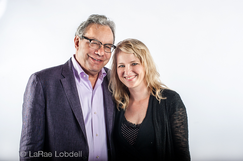 Lewis Black and LaRae Lobdell photo by (c) Kate Hailey