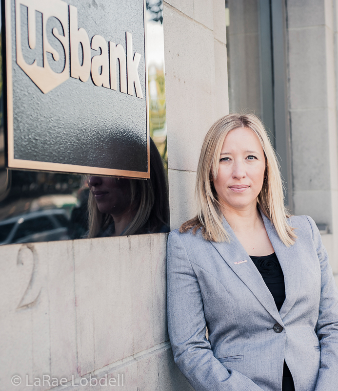 Dawn Kloos for US Bank by LaRae Lobdell | PhotoSister.com