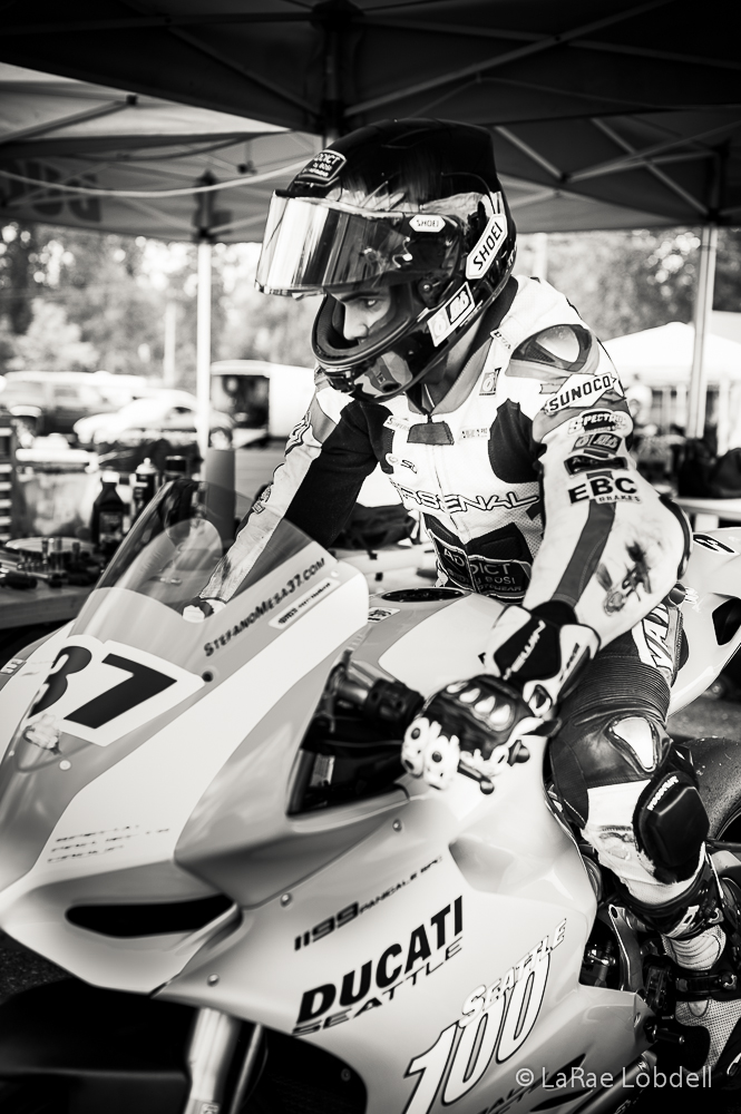 Ducati Seattle at Portland International Raceway for the OMRRA round