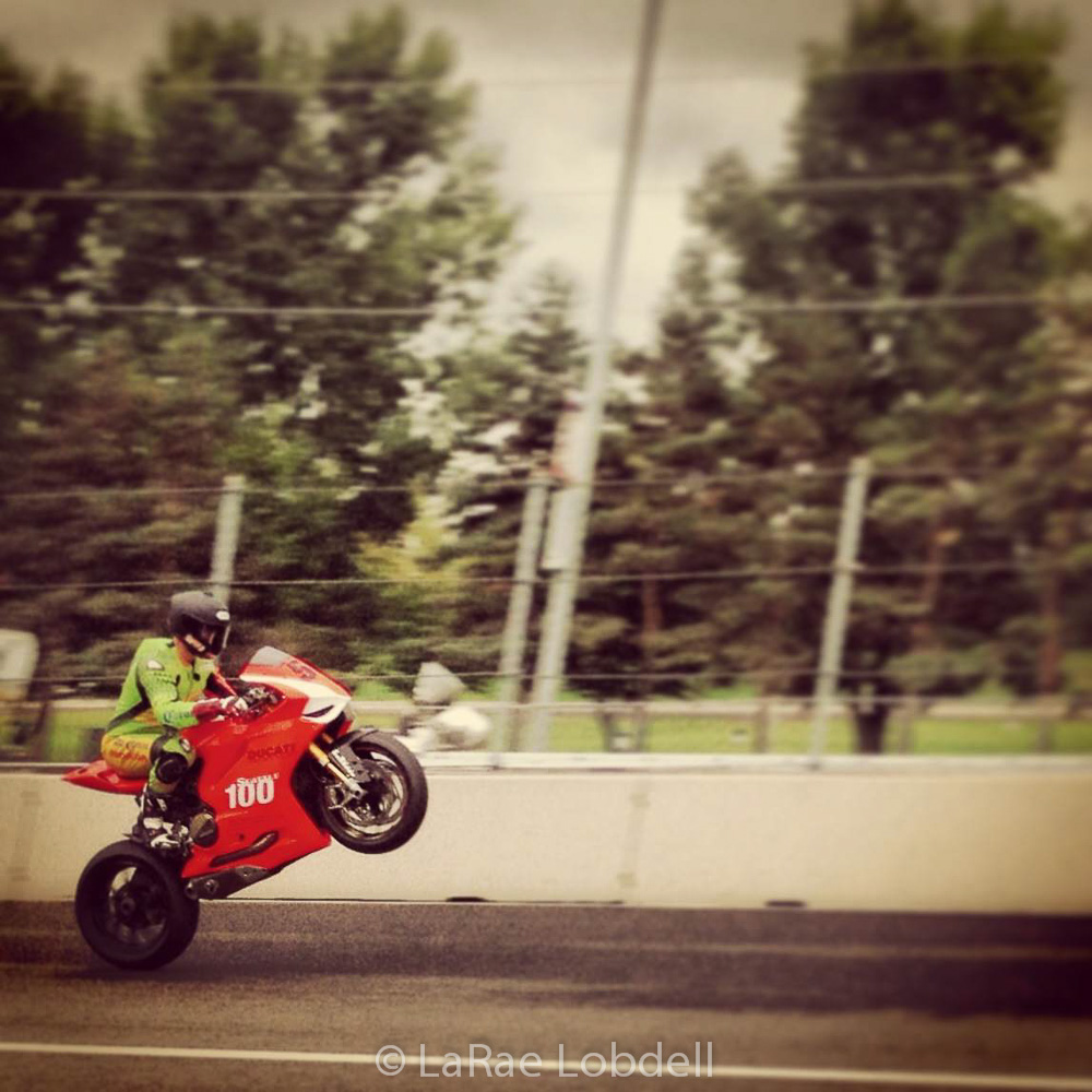 Jake Holden with the custom SPG Ducati 1199 Panigale at Portland International Raceway for the OMRRA round 6