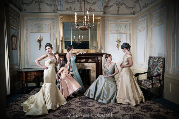 Fashion Designer Julie Danforth's bridal shoot inspired by Cecil Beaton & Charles James