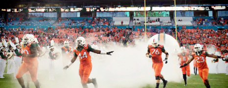 3 Hours and 41 Minutes with the Miami Hurricanes