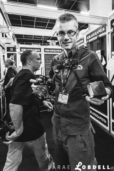 photokina in Cologne, Germany with BlackRapid September 19-26, 2010