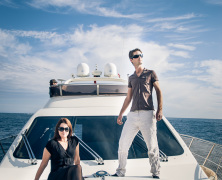 Lifestyle shoot in the French Riviera