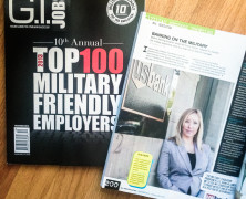 G.I. Jobs Magazine with US Bank
