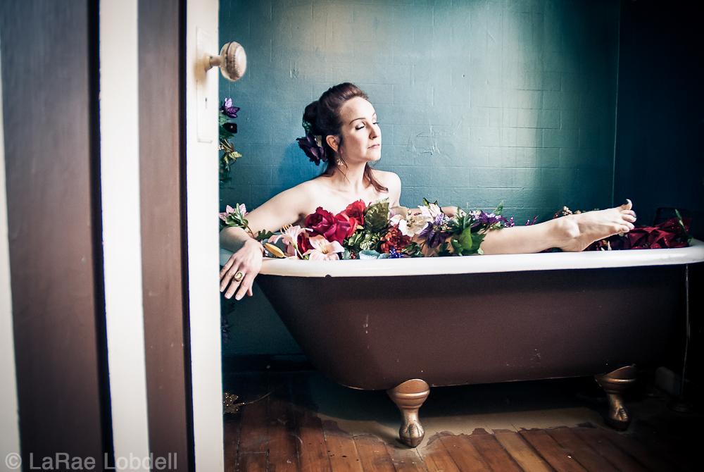 Cherry Manhattan (Katjana Vadeboncoeur Pierce) by LaRae Lobdell | PhotoSister.com