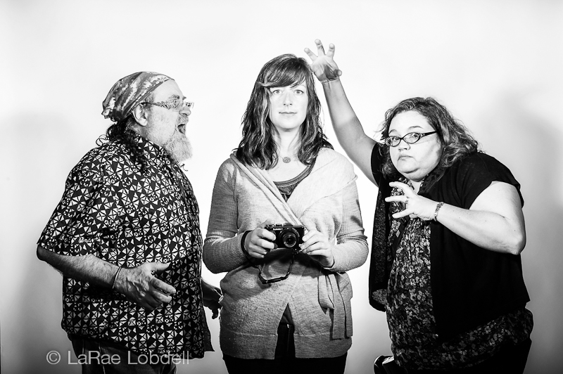 Lewis Black photo shoot with John Cornicello, Kate Hailey and Jenn Repp by (c) LaRae Lobdell
