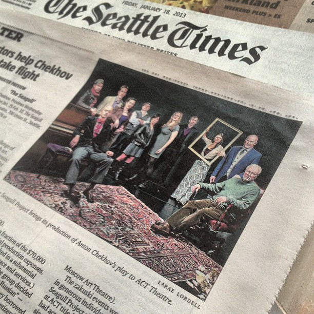 2013-01-18 The Seattle Times -  Seagull Project 2