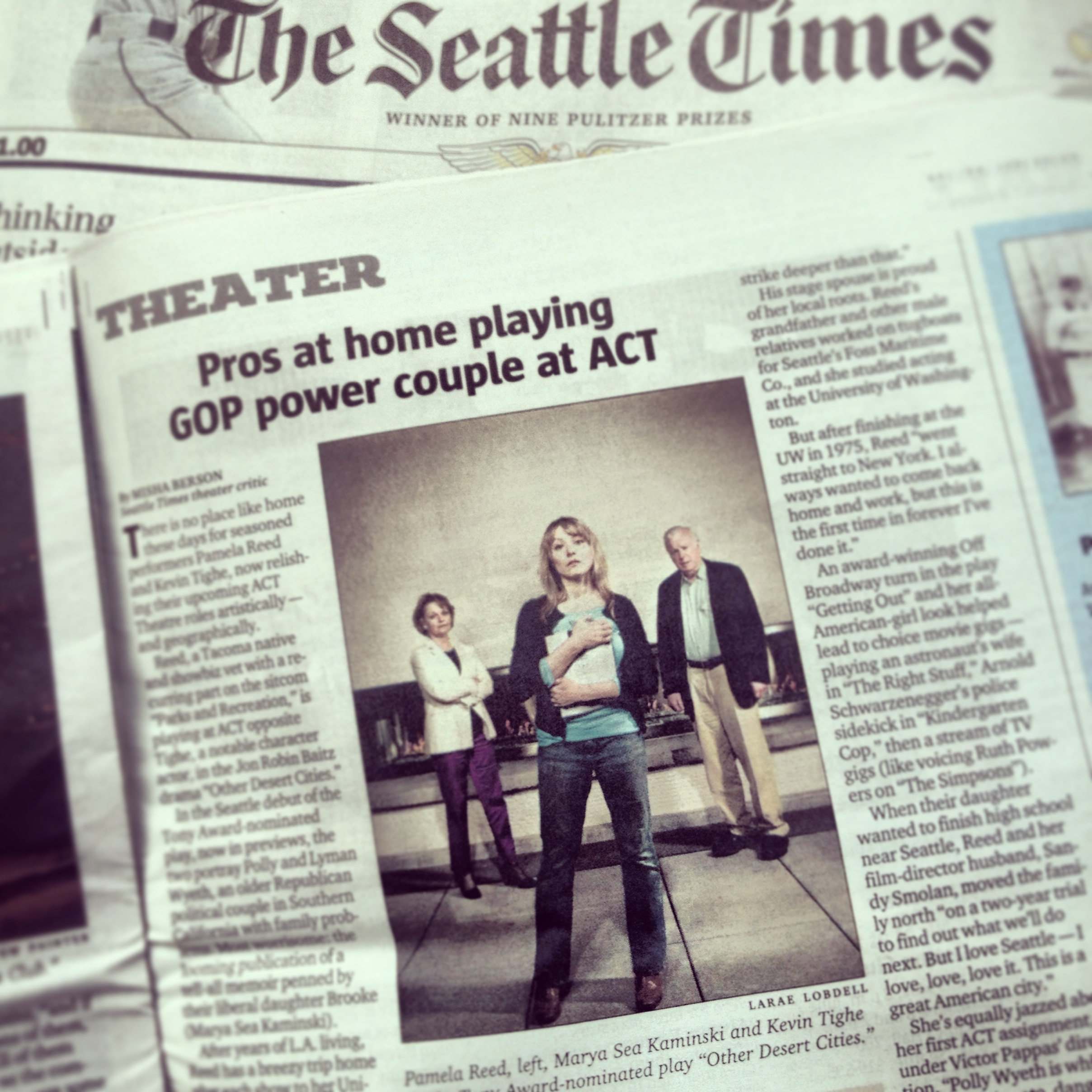 Seattle Times May 31, 2013