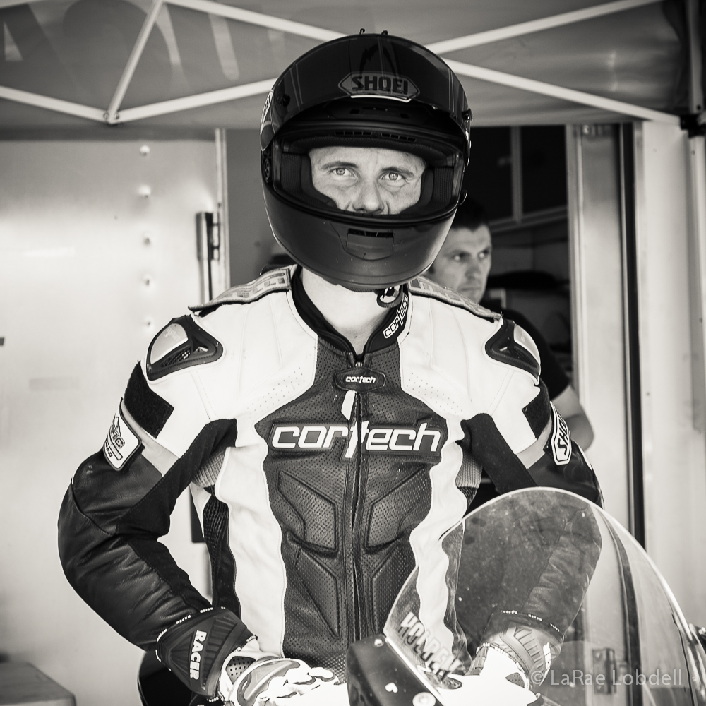 AMA Pro Superbike Racer Jake Holden at Pacific Raceways WA for the Seattle 100 Camp Korey Fundraiser