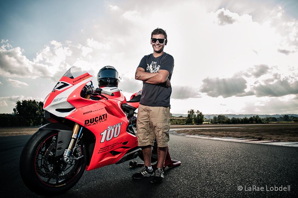 Ducati Seattle at Portland International Raceway for the OMRRA round