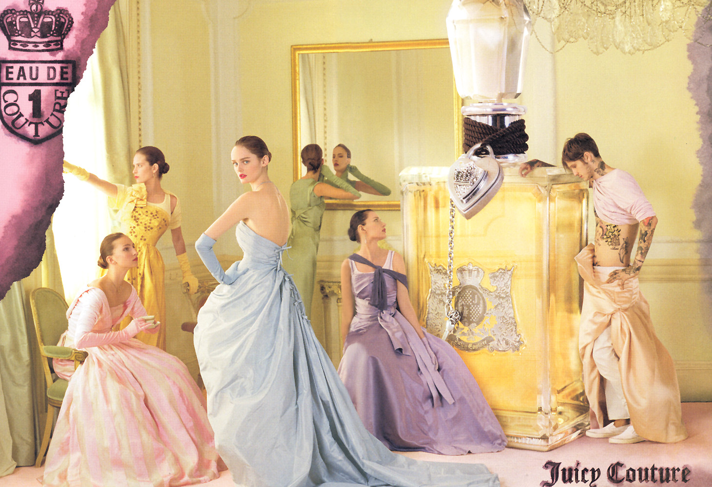 Juicy Couture 2006 by Tim Walker