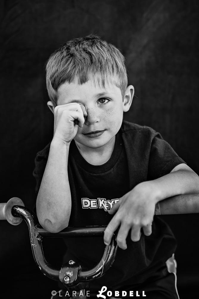 "Levi De Keyrel ""Little Bro"" future rider of De Keyrel Racing MotoAmerica at Road America, Elkhart Lake, WI, May 31, 2015"